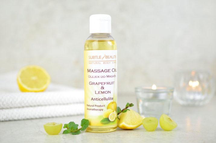 olejek do masażu – Antycellulitowy