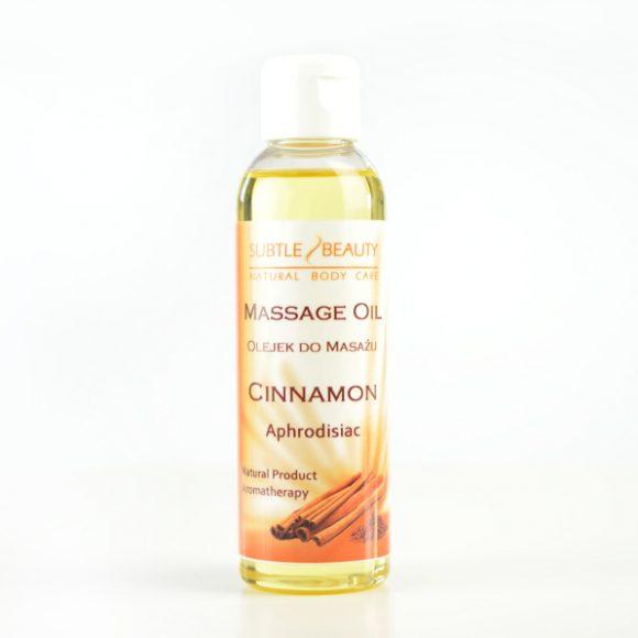 Zmysłowy olejek do masażu Cynamonowy