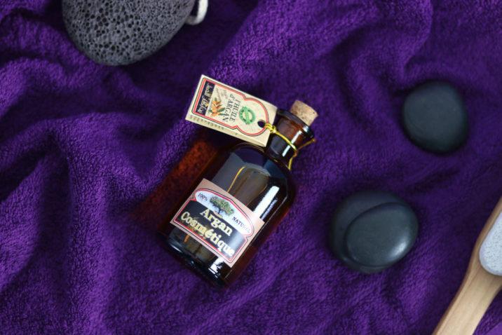 Arganowy olejek do masażu