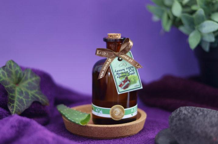 Olejek do masażu winogronowy