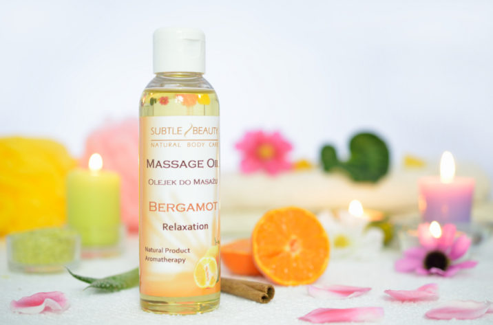 Naturalny olejek do masażu – RELAKSUJĄCY – Bergamotowy