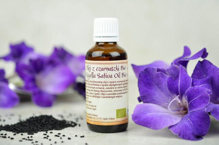 Organiczny olejek z czarnuszki