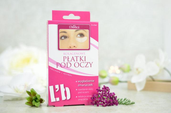 Płatki kolagenowe pod oczy - przeciwzmarszczkowe