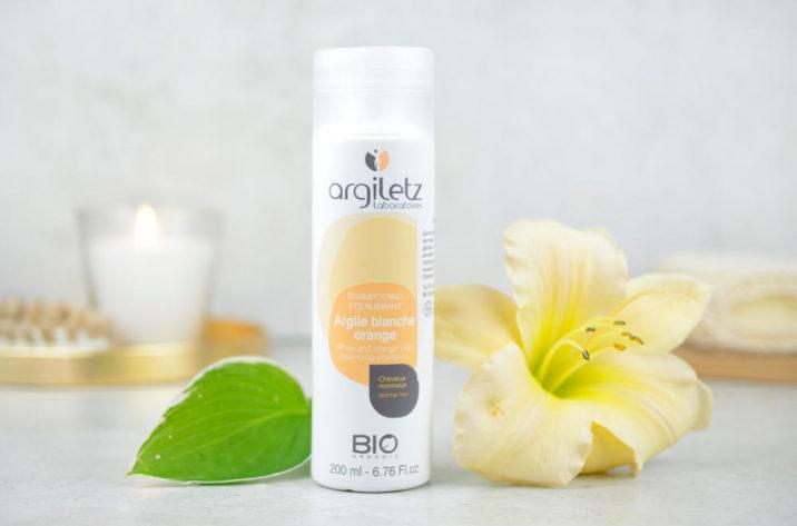 Szampon organiczny z białą i pomarańczową glinką