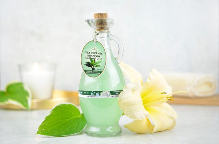Szampon z olejkiem drzewa herbacianego