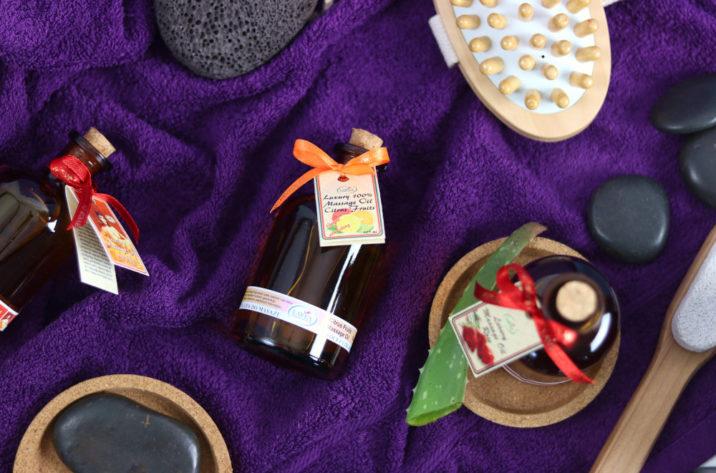 Olejek do masażu owoce cytrusowe