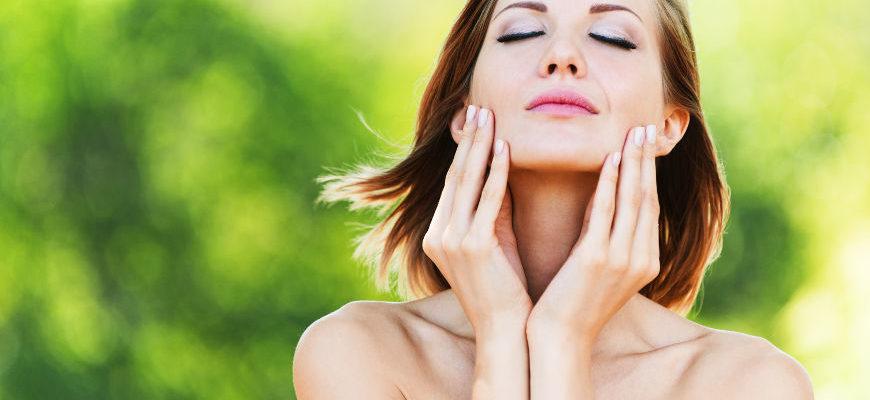 Aromaterapeutyczny masaż twarzy i skóry głowy
