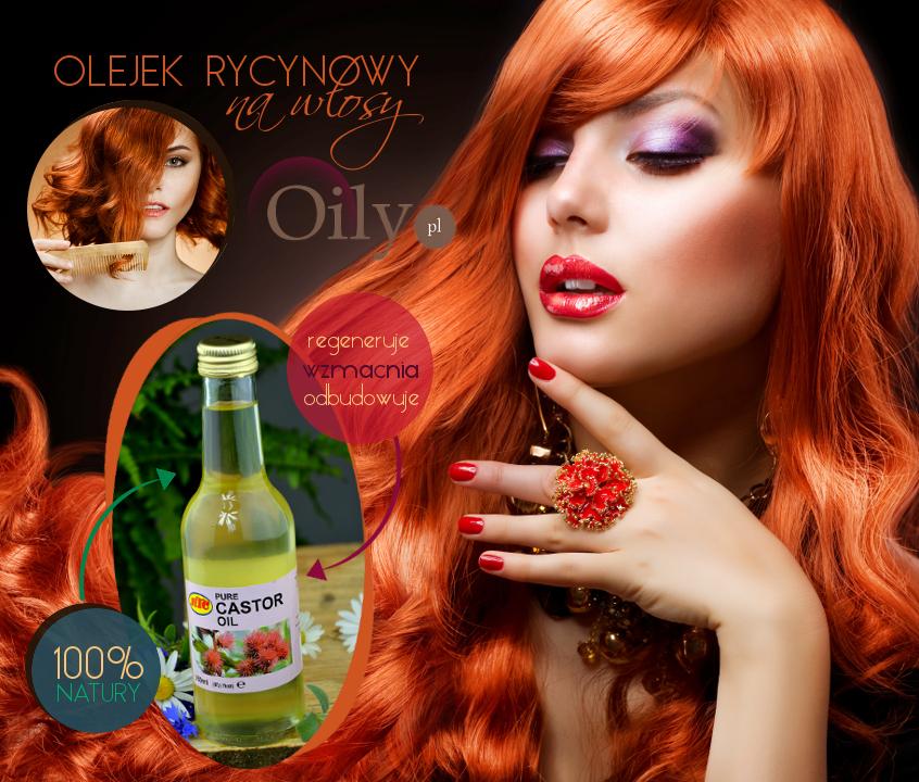 Stosowanie olejku rycynowego na włosy