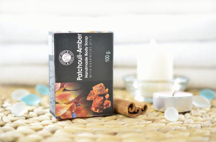 Mydełko z olejkami eterycznymi – Patchouli Amber