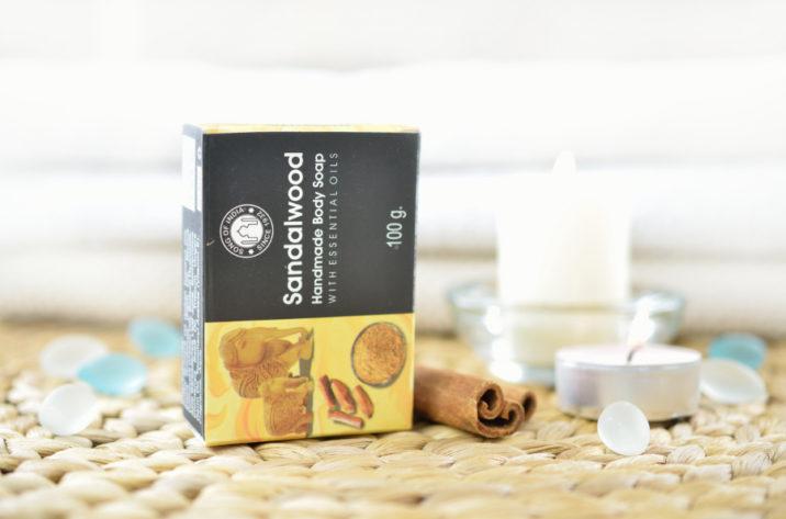 Mydełko z olejkami esencjonalnymi - Sandałowe