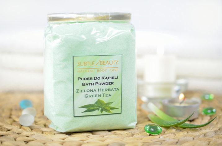 Puder do kąpieli Zielona Herbata
