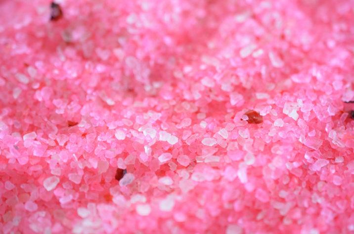 Sól do kąpieli różana