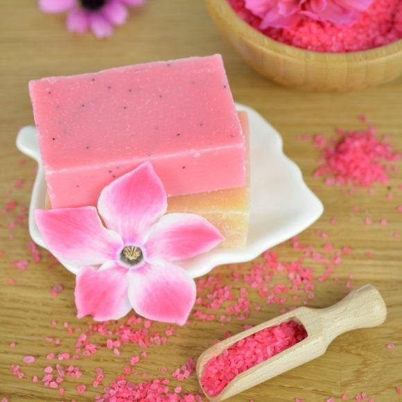 Wiosenna odnowa - sól do kąpieli różana
