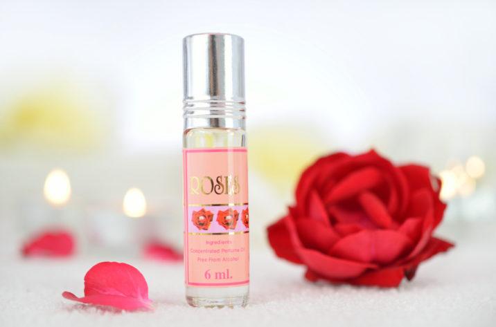 Orientalne perfumy w olejku Różane
