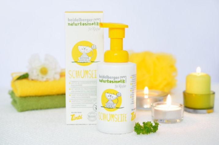 Naturalne mydło w piance do mycia dla dzieci
