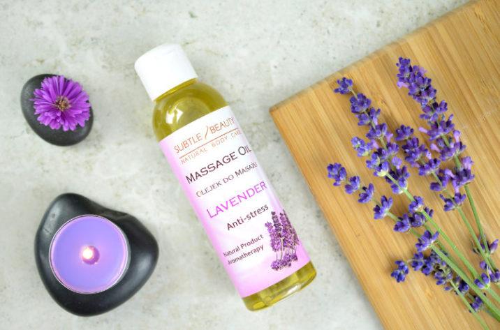 Antystresowy olejek do masażu Lawendowy