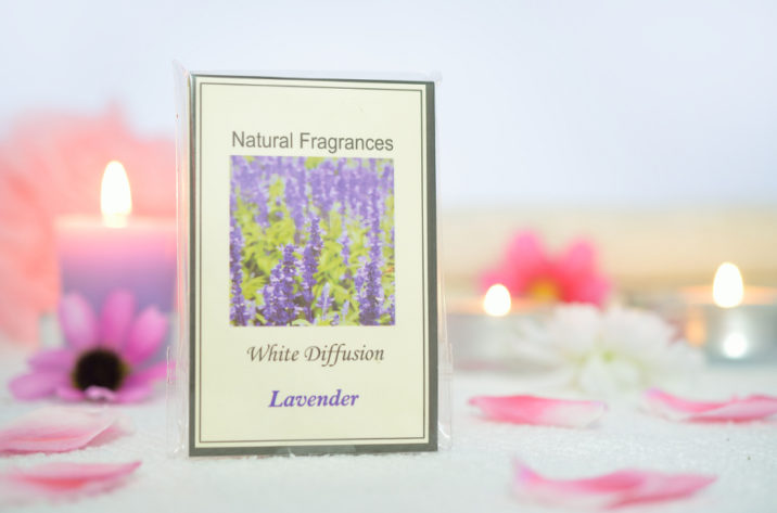 Saszetka zapachowa Natural Fragrances Lawenda