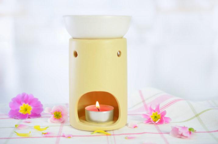 Kominek do aromaterapii - dwuczęściowy