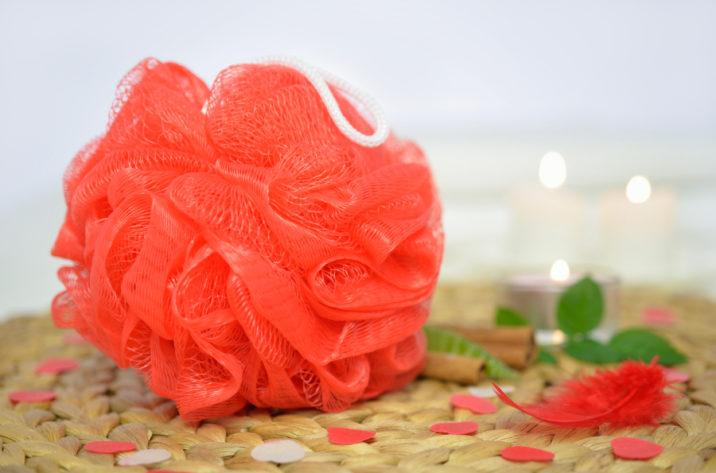 Myjka siateczkowa - czerwona
