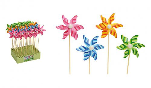 wiatraczki - wiosenne dekoracje