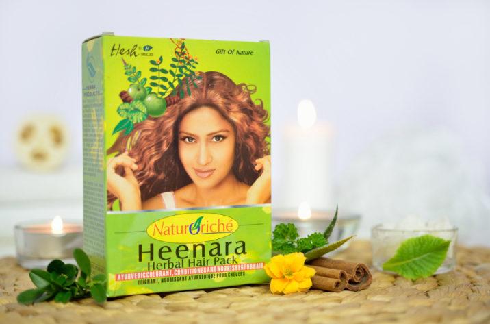 Henna do włosów - Heenara
