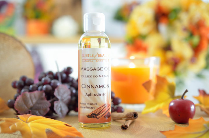 Afrodyzjak Naturalny olejek do masażu - Cynamonowy