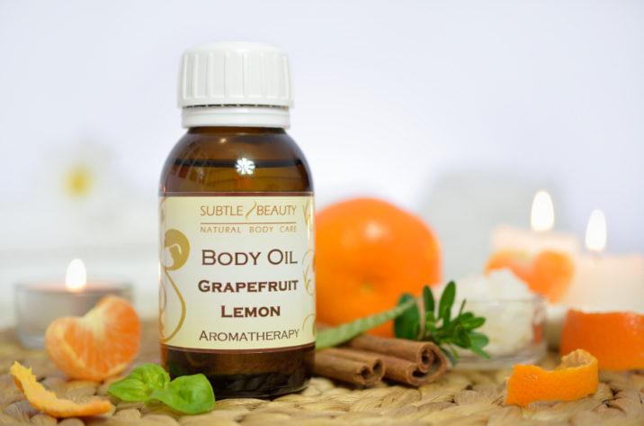 Antycellulitowy Olejek do ciała - Grapefruit/Lemon
