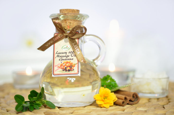 Olejek do masażu guarana