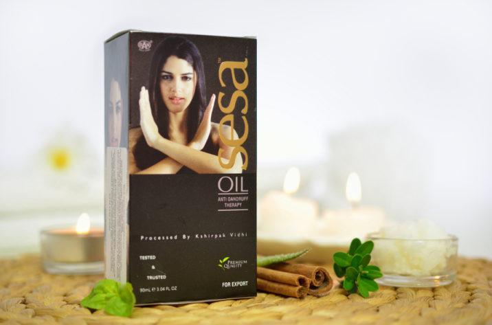 Olejek stymulujący wzrost włosów Sesa Plus
