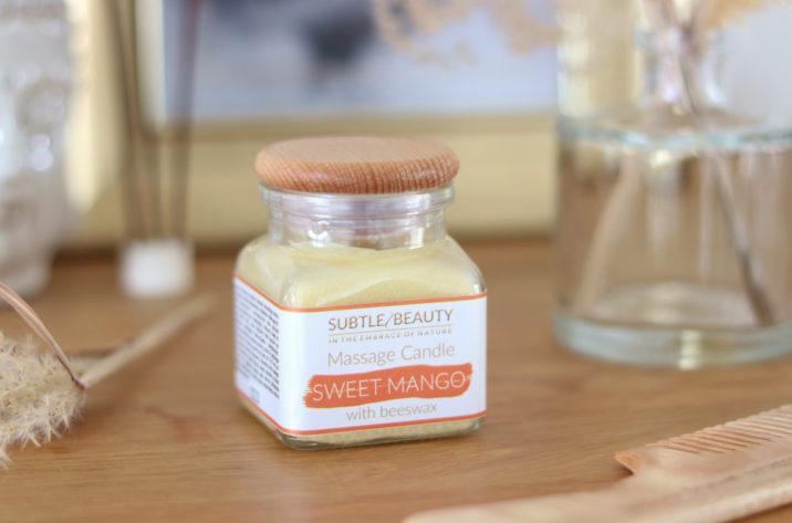 Świeca do masażu - Sweet Mango
