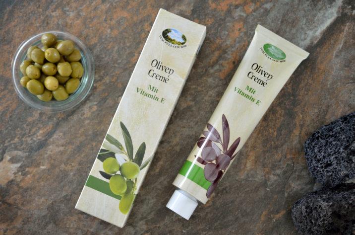krem oliwkowy z witaminą E