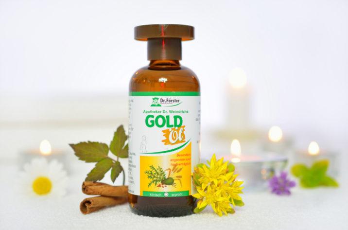 Olejek do pielęgnacji twarzy i ciała GOLD