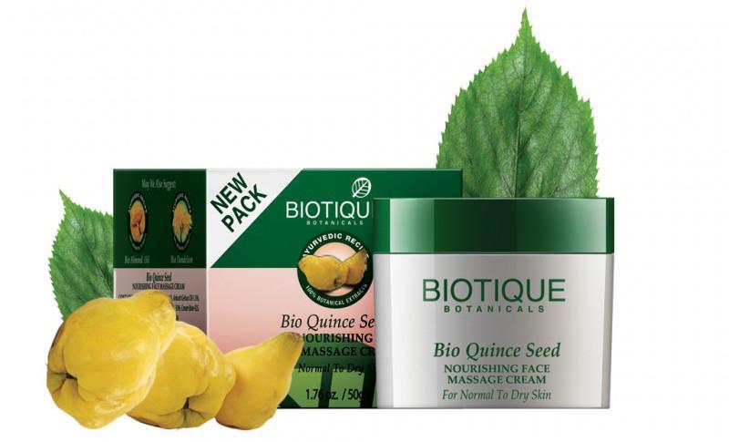 Biotique Odżywczy Krem do Masażu Twarzy z Pigwą