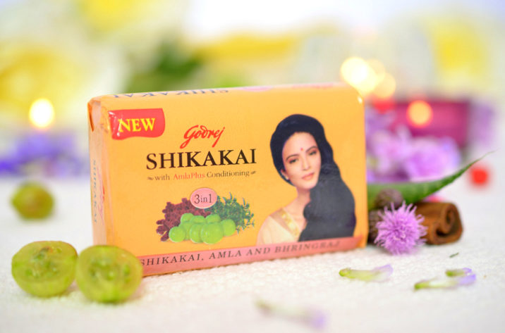Godrej Mydło do Włosów i Ciała Shikakai