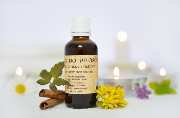 Olejek do włosów – 7 olejów