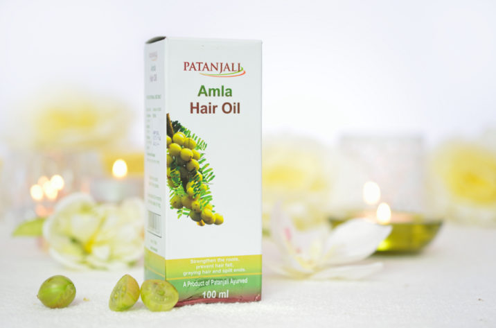 Olejek wzmacniający włosy Amla