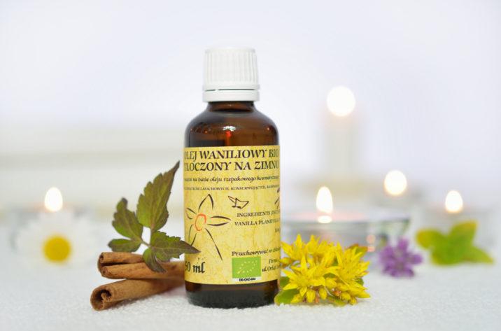 Organiczny olejek waniliowy