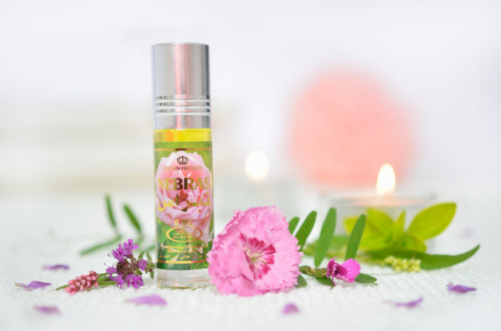 Orientalne perfumy w olejku nebras