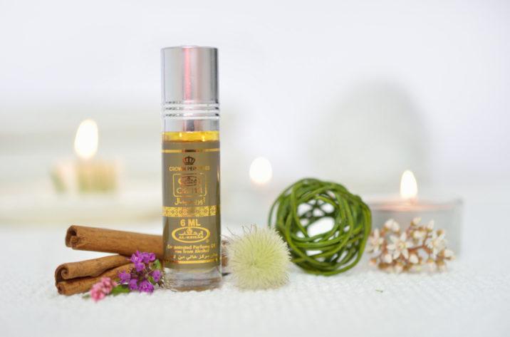 Orientalne perfumy w olejku