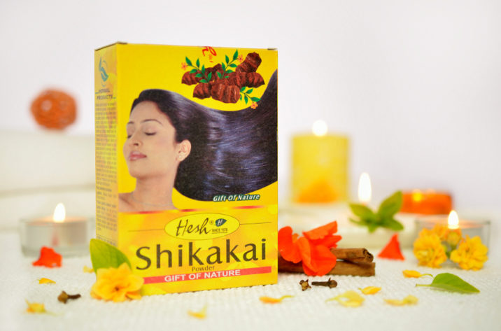 naturalny szampon Shikakai