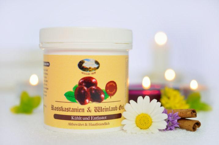 Żel z ekstraktem kasztanowca i liści winorośli – ulga dla zmęczonych nóg