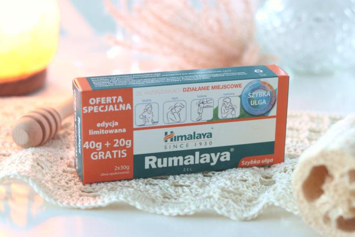 Żel Rumalaya - przeciw bólowi mięśni i stawów