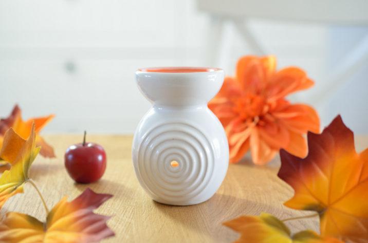 Kominek do aromaterapii Color – pomarańczowy