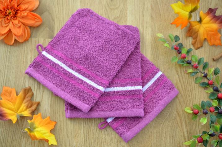 Zestaw myjek organiczna bawełna
