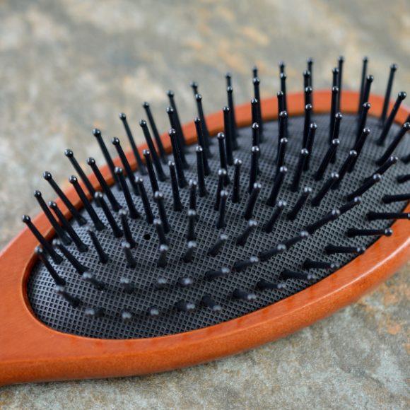 Drewniana szczotka do włosów Medium