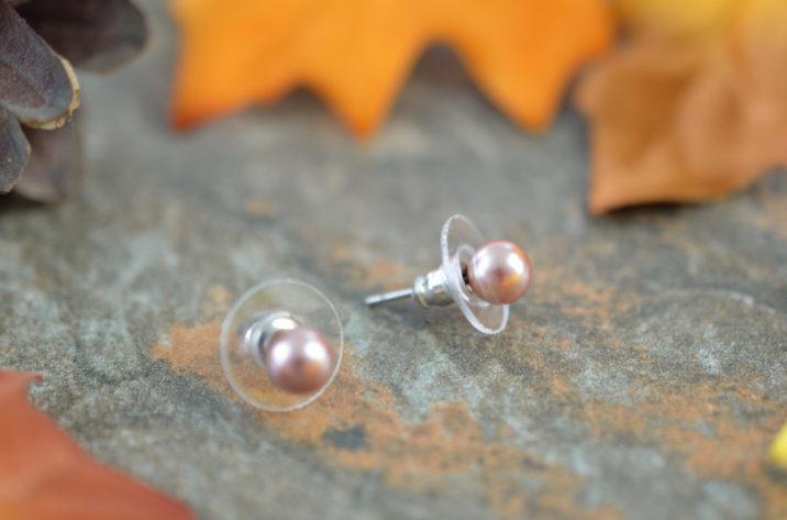 kolczyki perły