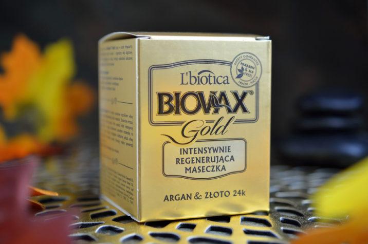 maseczka do włosów ze złotem i olejkiem arganowym