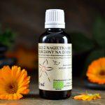 organiczny olejek z nagietka