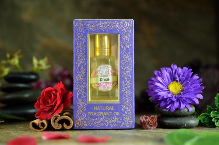 Indyjskie perfumy w olejku - Rose