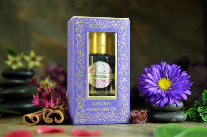 Indyjskie perfumy w olejku - Aphrodesia